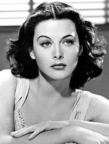 un corrector de estilo, actriz Hady Lamarr