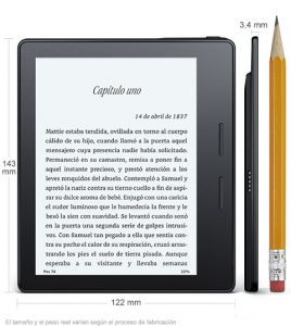Kindle Oasis, concurso literario de Amazon