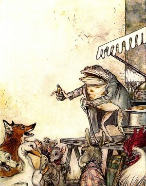 dos cuentos infantiles, fábulas