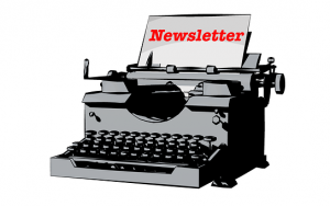 newsletter, escribir y corregir