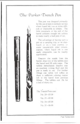 Parker Trench Pen