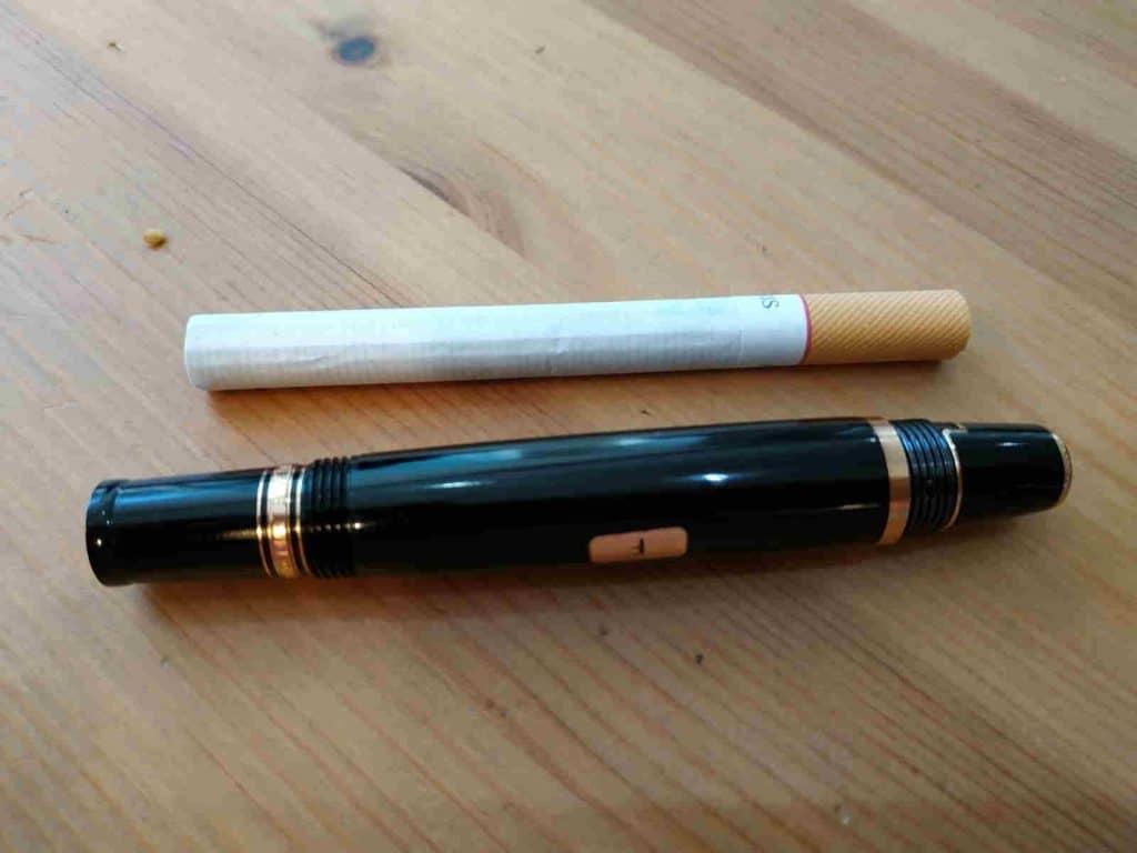 Pluma Montblanc Bohéme, no mucho más grande que un cigarrillo