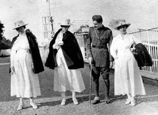 Hemingway con Anges von Kurowsky