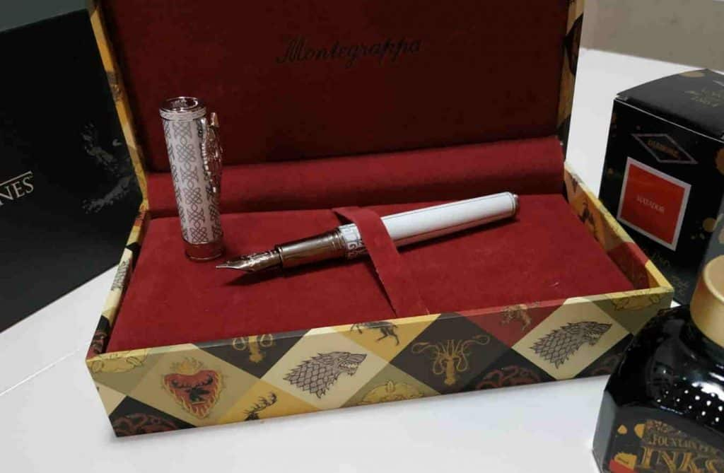 pluma estilográfica Montegrappa Juego de Tronos Stark