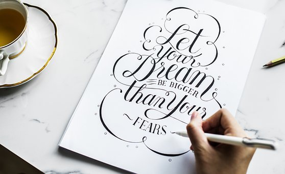 hand lettering, Faber-Castell