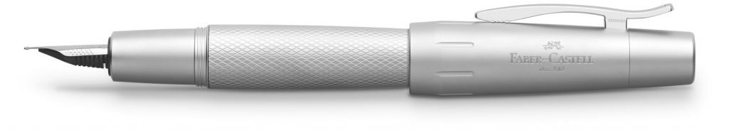 Pluma estilográfica Faber-Castell Pure Silver