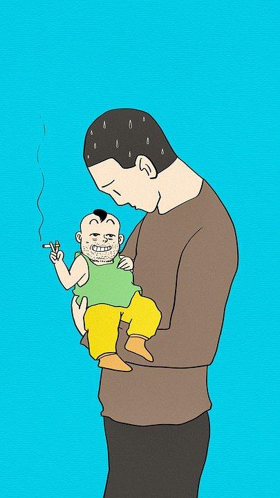 padre, relato de padres e hijos